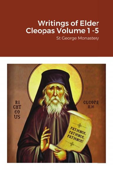 Writings of Elder Cleopas Volumes 1 -5