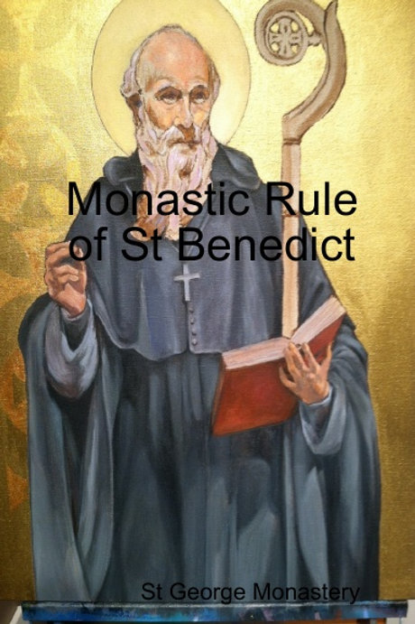 BULK Monastic Rule of St Benedict x 5 Copies