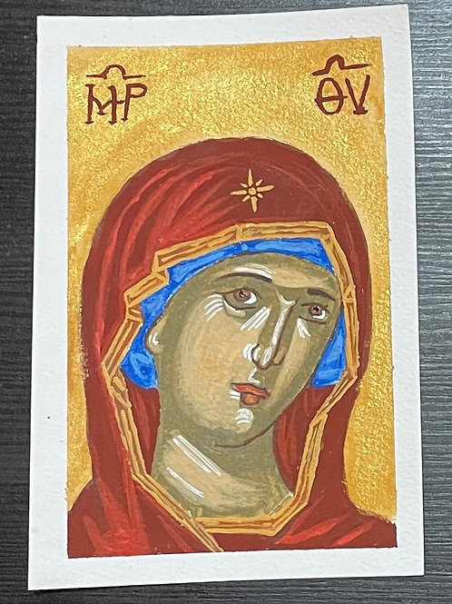 Hand painted icon 1 $20 USD