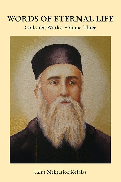 St Nektarios Volume 3 Words of Eternal Life
