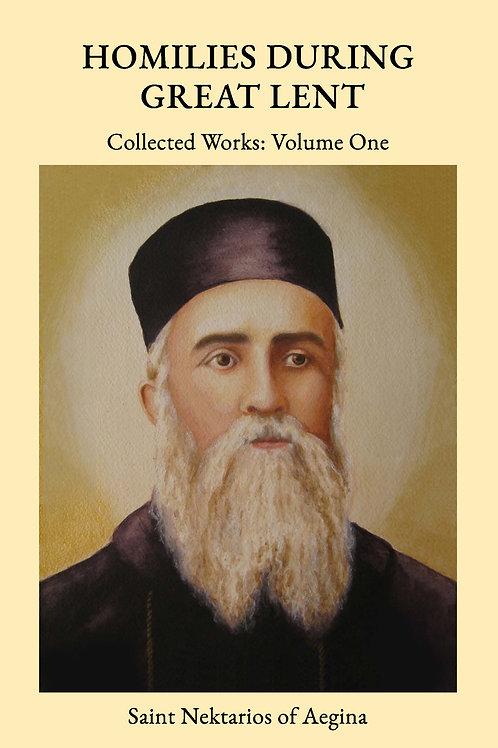 St Nektarios Volume 1 Homilies During Great Lent JC