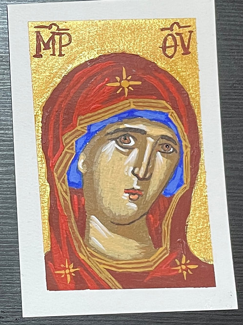 Hand painted icon 2 $20 USD