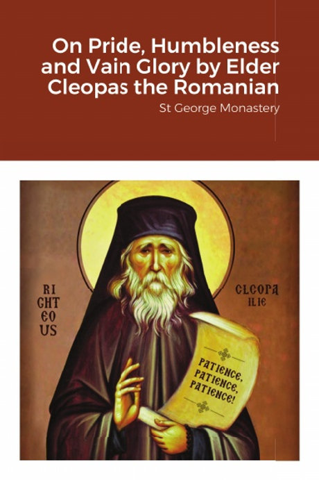 BULK On Pride, Humbleness and Vain Glory by Elder Cleopas the Romanian x 5 Copi