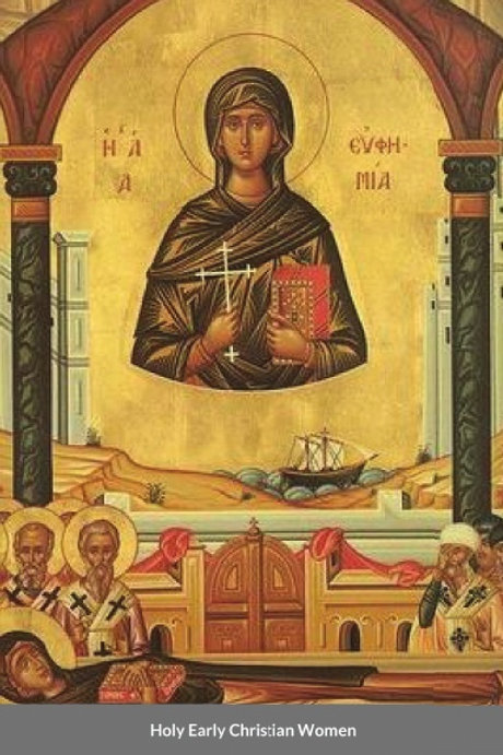 BULK Holy Early Christian Women x 5 Copies