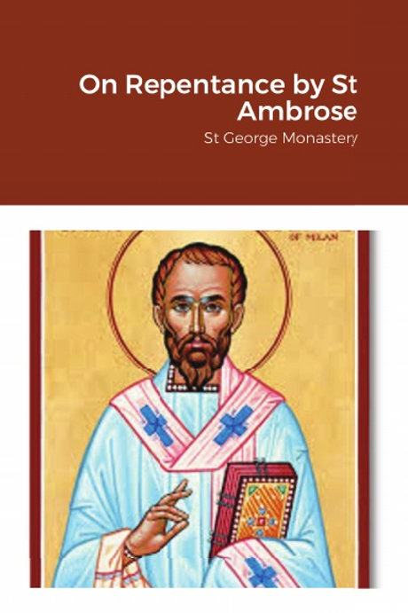 BULK On Repentance by St Ambrose x 5 Copies