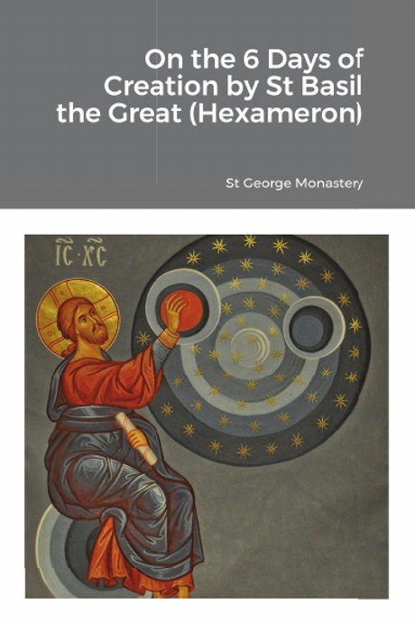 BULK On the 6 Days of Creation by St Basil the Great (Hexameron) x 5 Copies