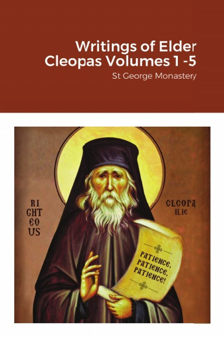 BULK Writings of Elder Cleopas Volumes 1 -5 x 5 Copies