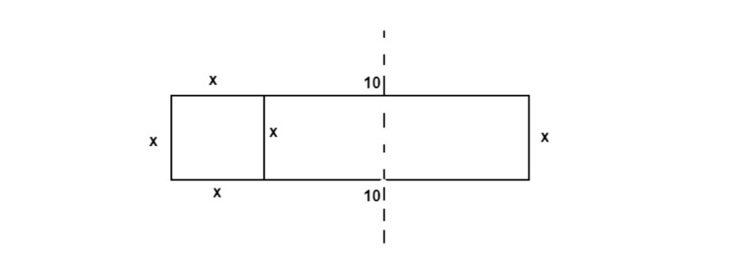 rectangle split into other two rectangles
