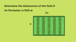 math word problem Perimeter and Area, Dimensions