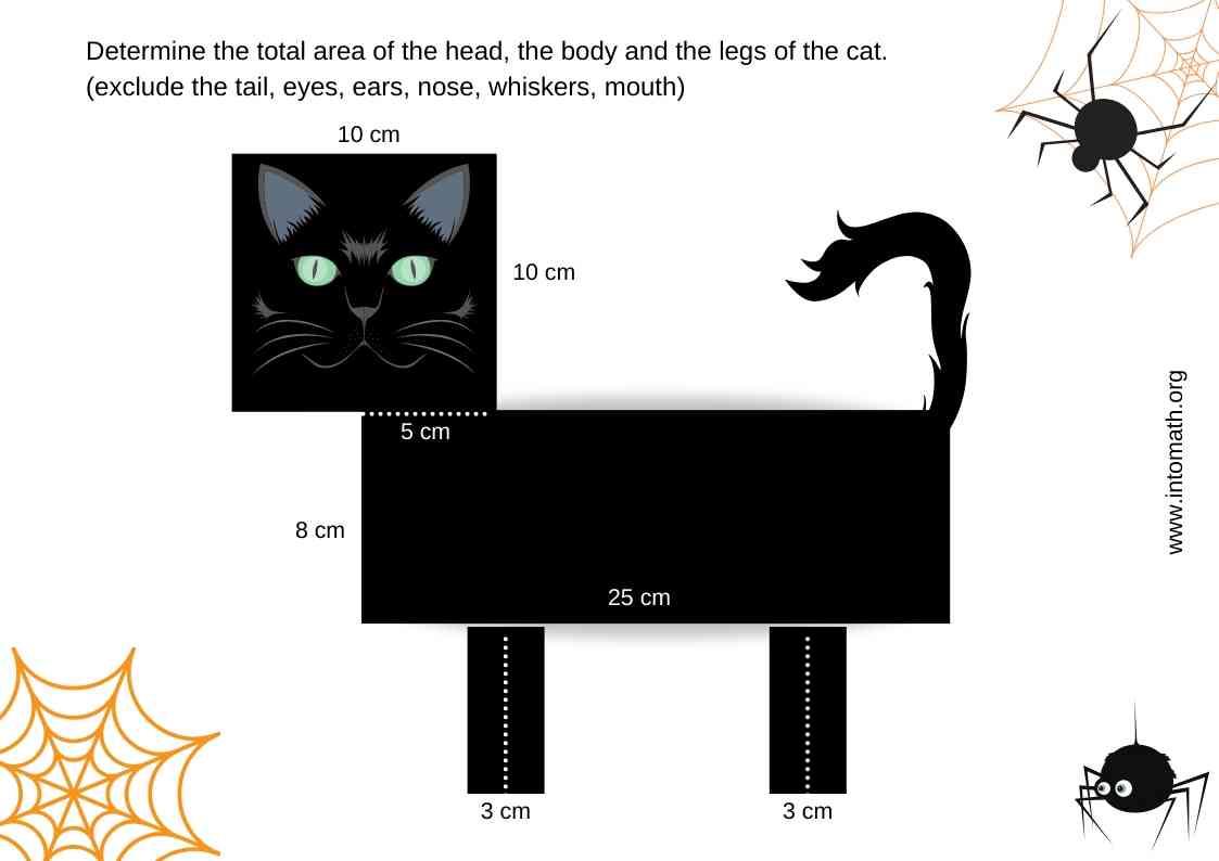 black cat composite figure math activity