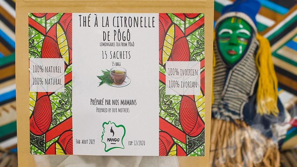 Thé Citronnelle 15 sachets