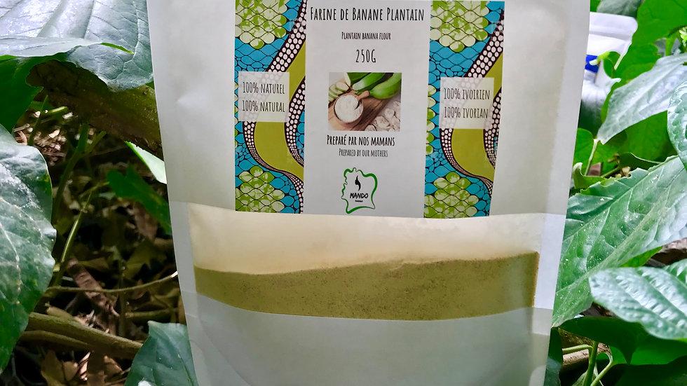 Farine de banane plantain