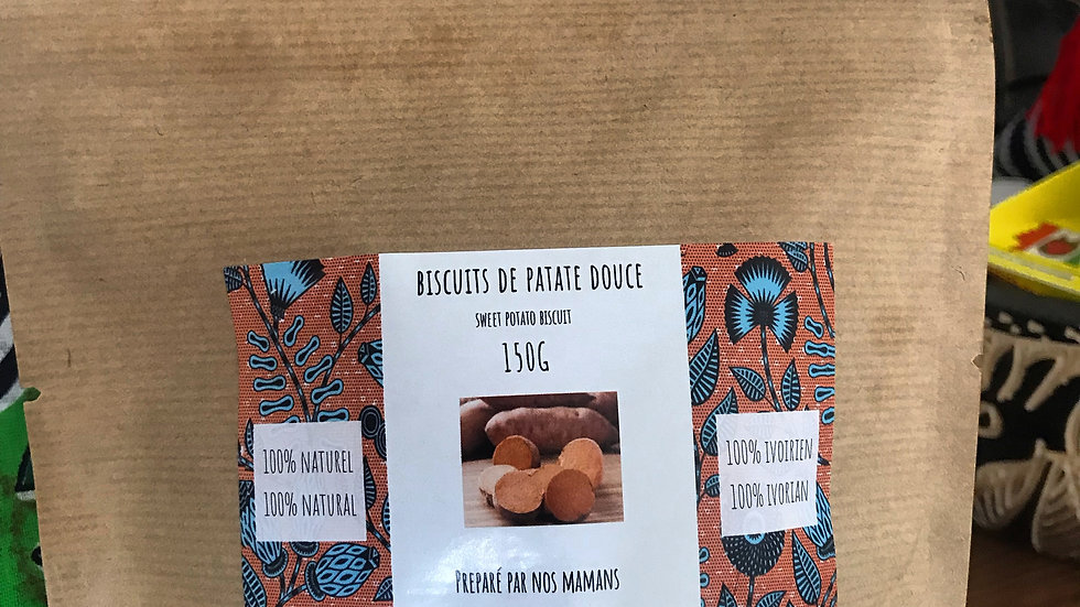 Biscuits de patate douce