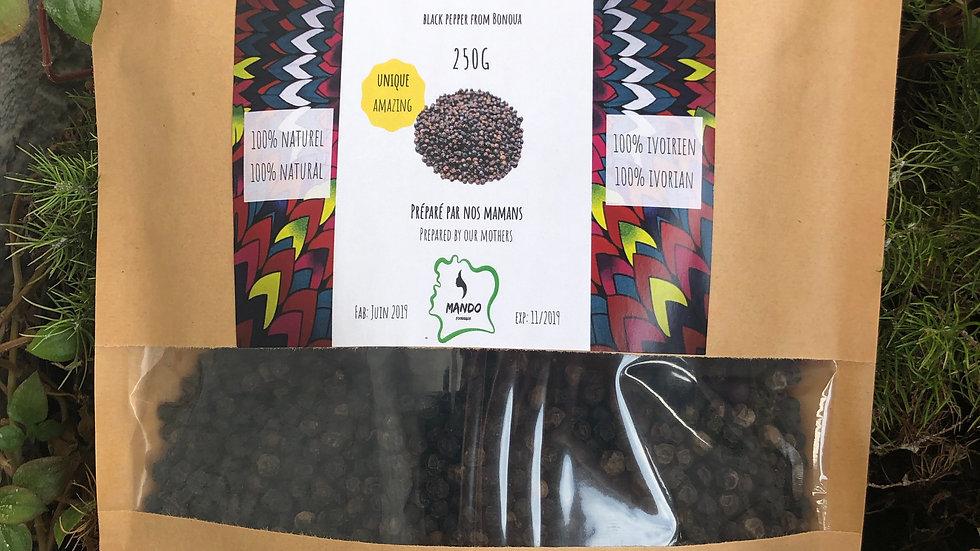 Poivre Noir de Bonoua en grains