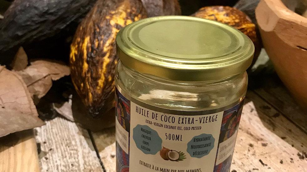 Huile de coco extra-vierge