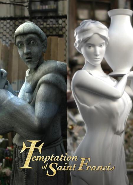Temptation Of Saint Francis (US)