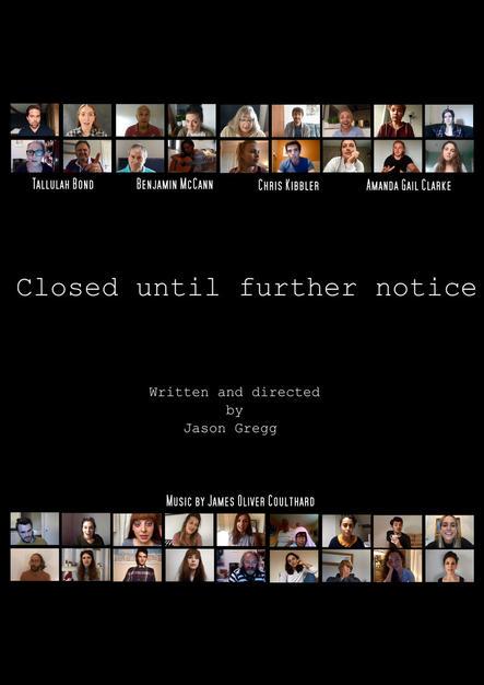 Closed until further notice (UK)