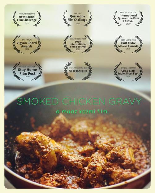 Smoked Chicken Gravy (India)