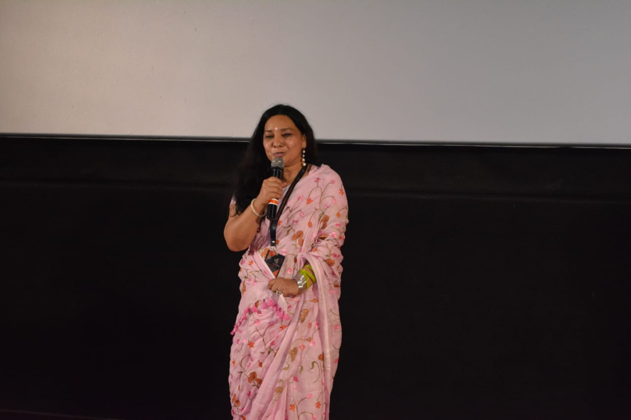SUNITA RAJWAR at MICFF 2020 PVR JUHU, MUMBAI