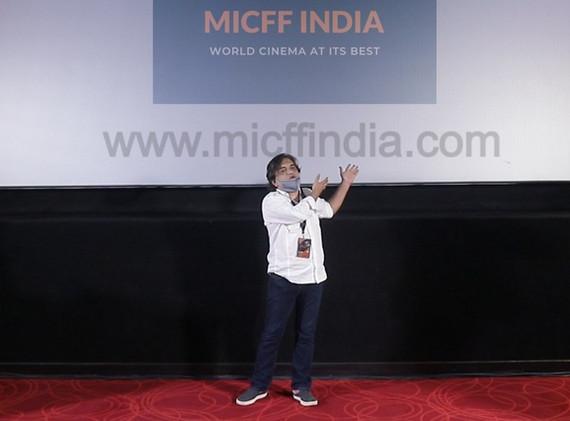 SWANAND KIRKIRE at MICFF 2020 PVR JUHU, MUMBAI