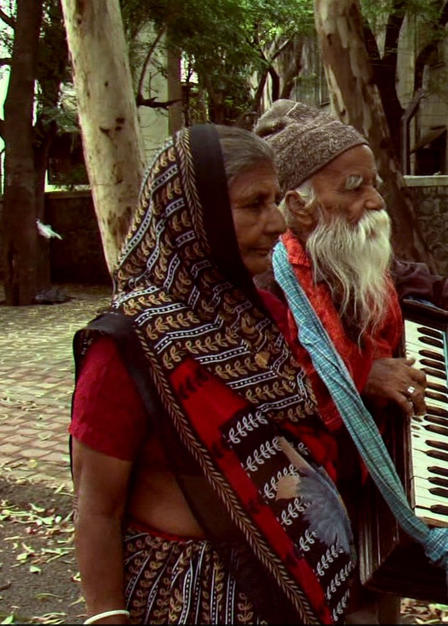 A Bohemian Musician (India)