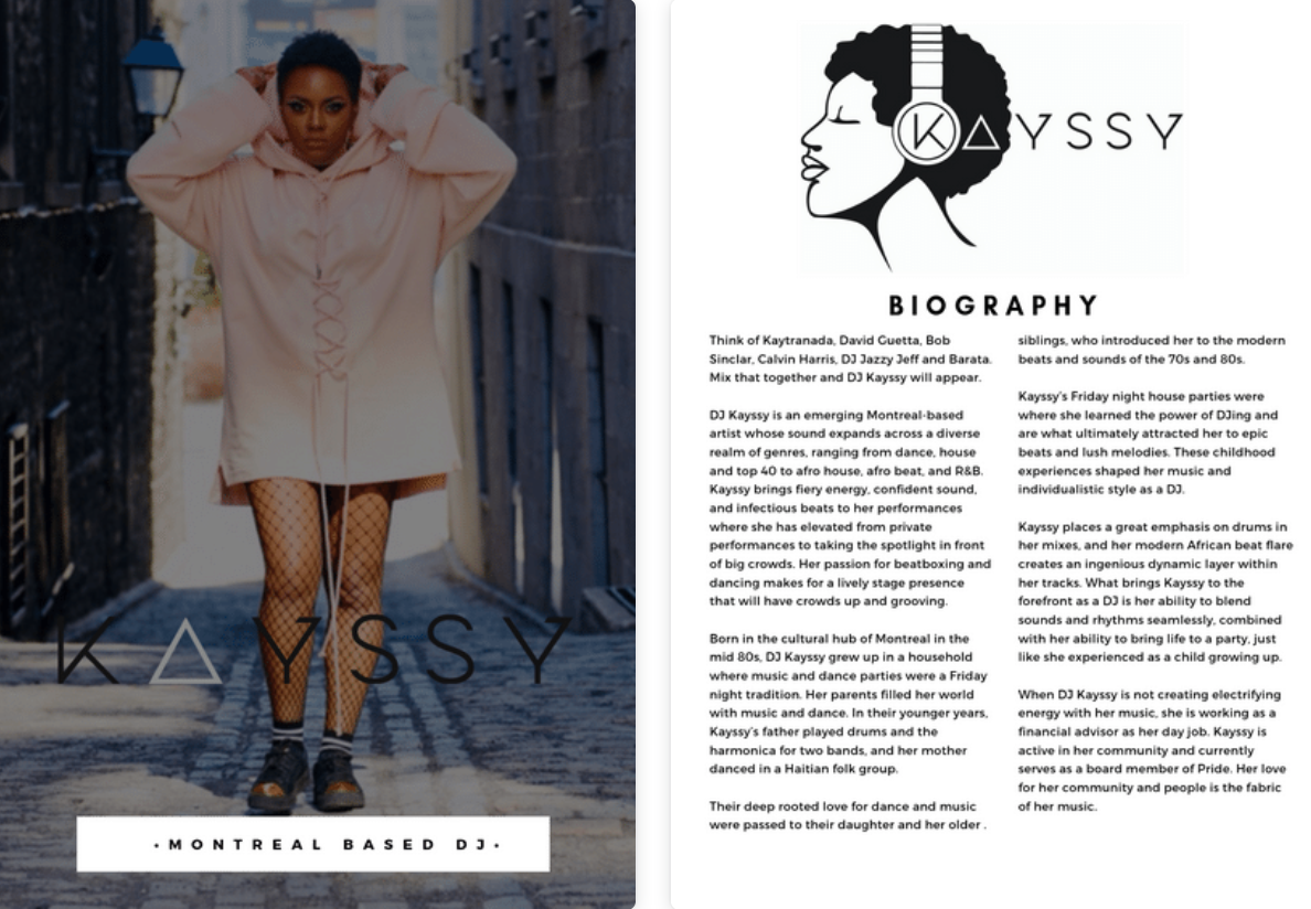 DJ Kayssy EPK Cover and Biography.png