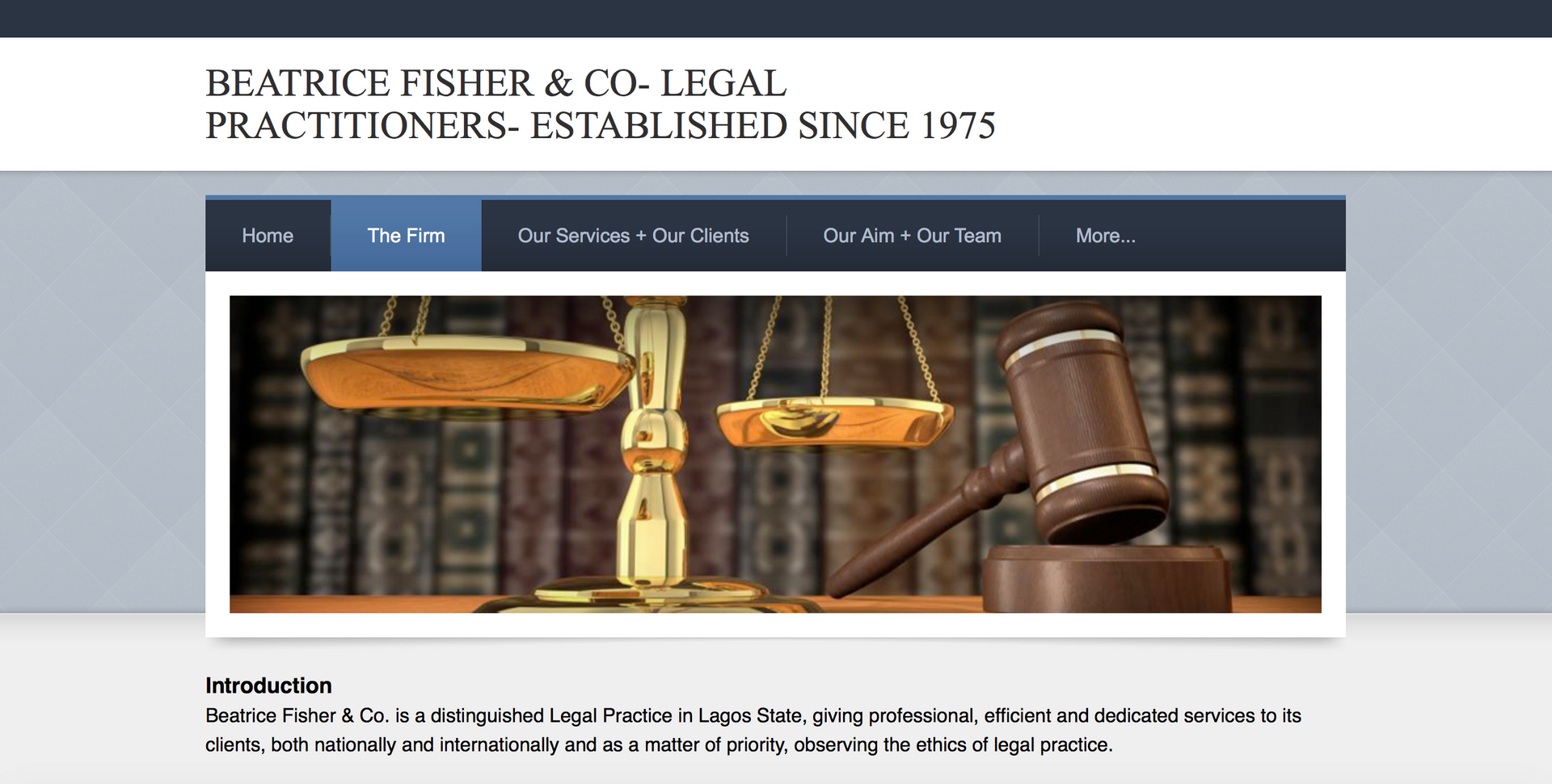 Beatrice Fisher & Co (Nigerian Law Firm)