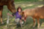 Annukka's Photography. Annukka with her horses.