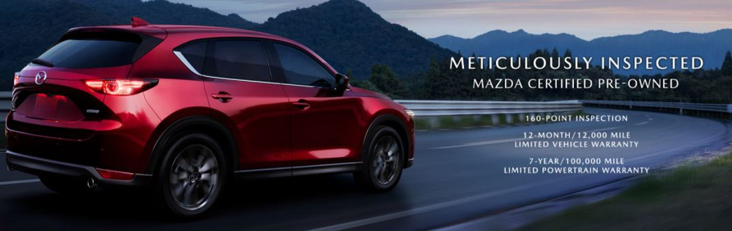 WHY BUY Mazda CPO