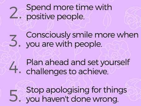 WAYS TO BE SELF-CONFIDENT