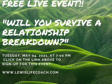 Free Event: Will You Survive A Relationship Breakdown?