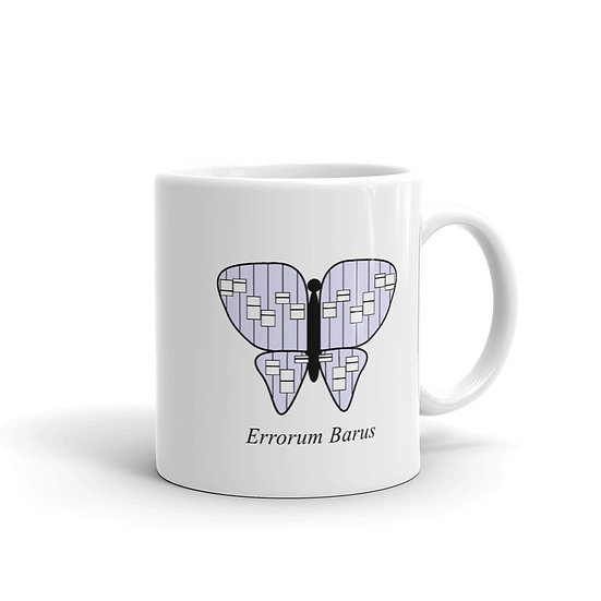 Datavizbutterfly - Errorum Barus - Mug