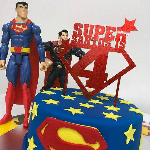 Superman inspired with name and number