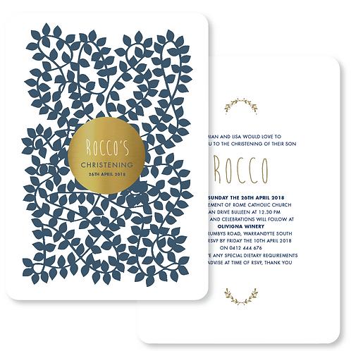 Blue vines 20 Pack (Envelopes Optional)