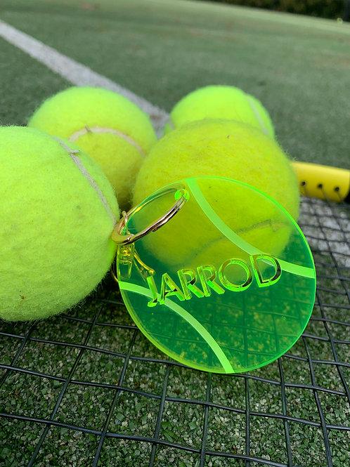 Tennis keyring