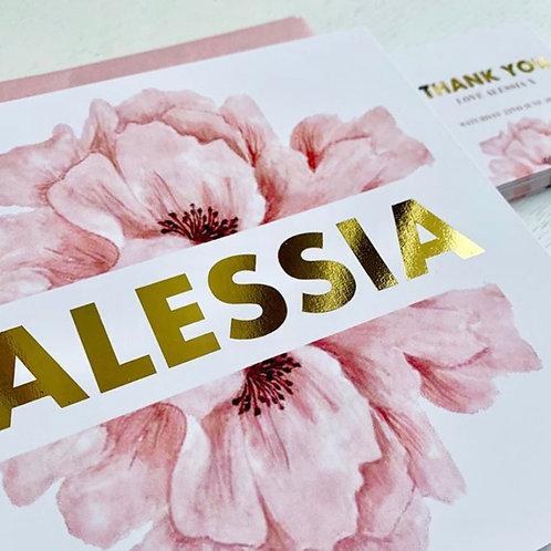 Oversized flower 20 Pack (Envelopes Optional)