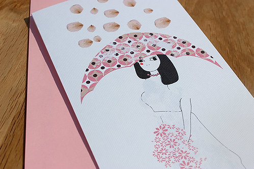 Bridal Shower Card with Envelope