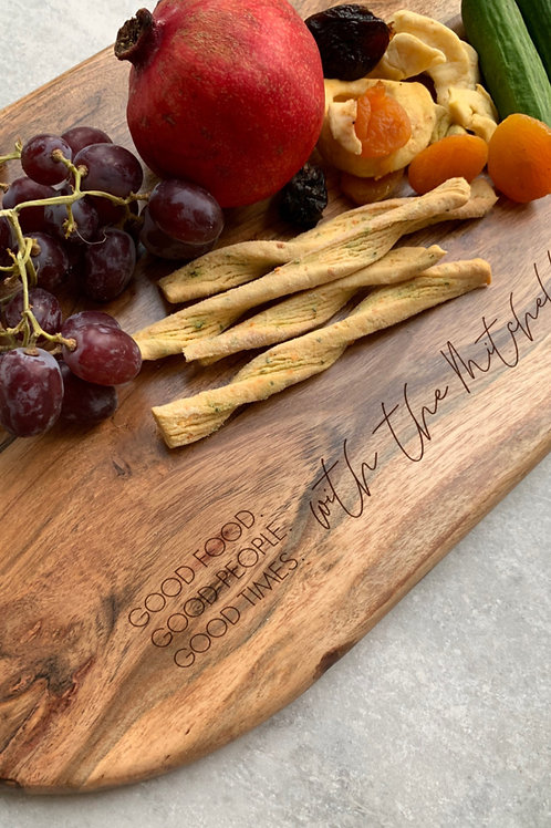 Personalised Engraved Grazing Boards