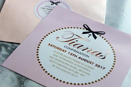 Pink & Bows 20 Pack (Envelopes Optional)