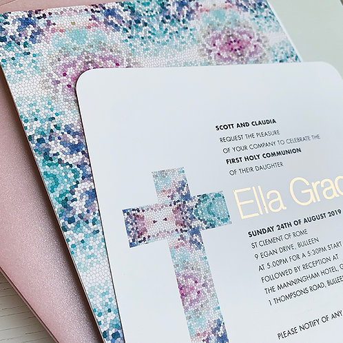 Mosaic Cross 20 Pack (Envelopes Optional)