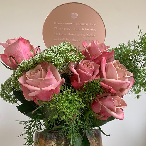 Roses Memorial Planter (Mother)