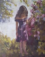 Girl in the Garden #2
