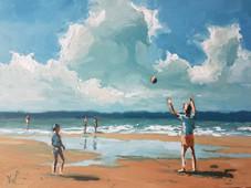 Ball Games on the Beach