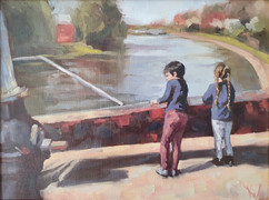 Cousins by the Canal