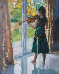 Girl and a Violin