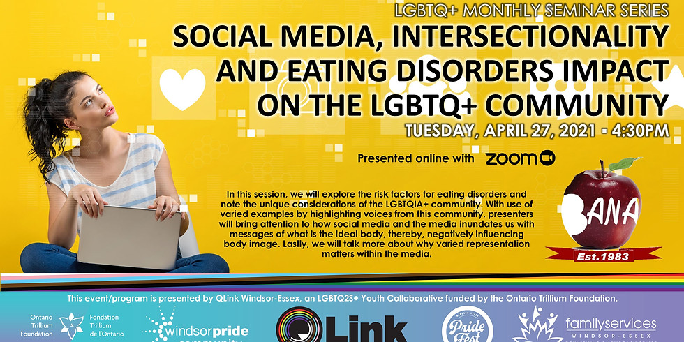 Social Media, Intersectionality and Eating Disorders: Recognising the impact on the LGBTQIA+ Community