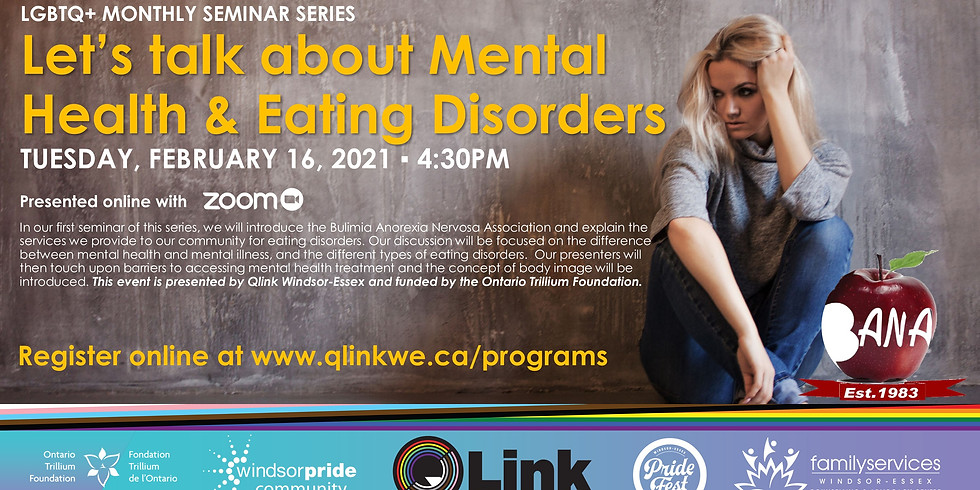 Let's Talk About Mental Health & Eating Disorders