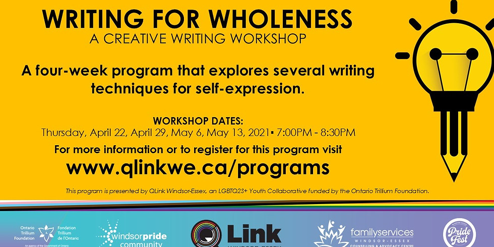 Writing For Wholeness