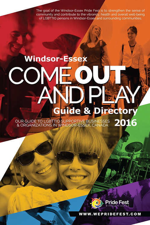 2016 COME OUT & PLAY GUIDE