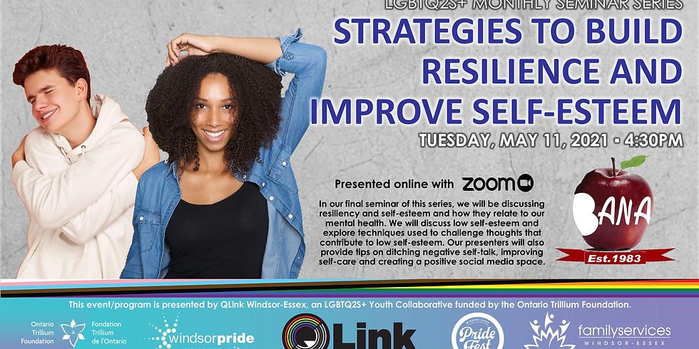 Strategies to Build Resilience & Improve Self-Esteem